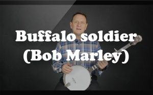 Learn Buffalo soldier (Bob Marley) on the banjo