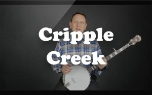 Learn Cripple Creek on the banjo