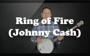 Learn Ring of Fire (Johnny Cash) on the banjo