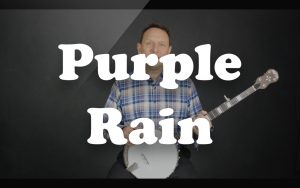 Play Purple Rain on the banjo